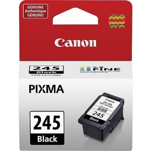Canon PG-245 Standard Black Ink Cartridge, 8279B001