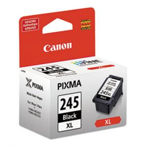 Canon PG-245XL High Yield Black Ink Cartridge, 8278B001