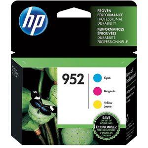 HP 952 C/M/Y Color Ink Cartridges,3PK,N9K27AN