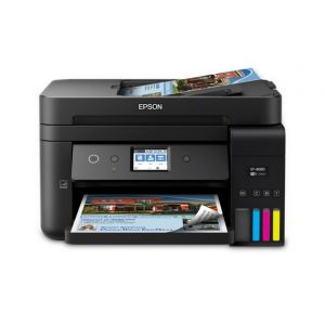EPSON WorkForce ST-4000 EcoTank Color MFP Supertank Printer, C11CG19202